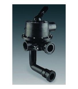 """Válvula selectora 2 1/2"""" con conexión a filtro. Modelo: Magnum. Variante 3"""