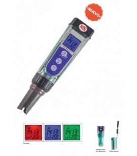 Analizador de bolsillo de pH, redox y conductividad