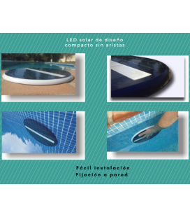 Caja de 12 Uds. LED Solar Subacuática